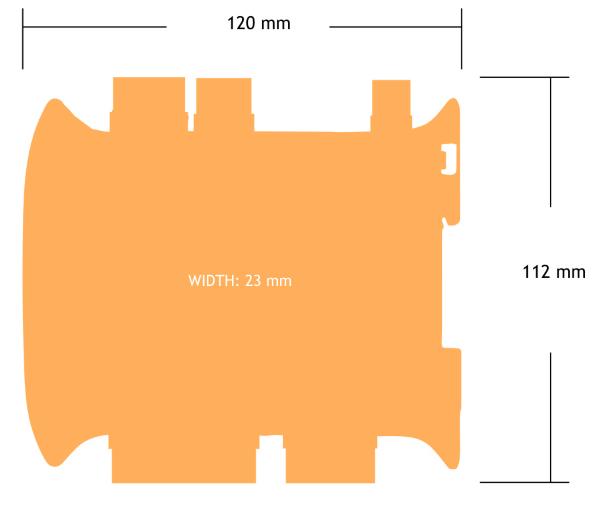 Rozměry LCD20