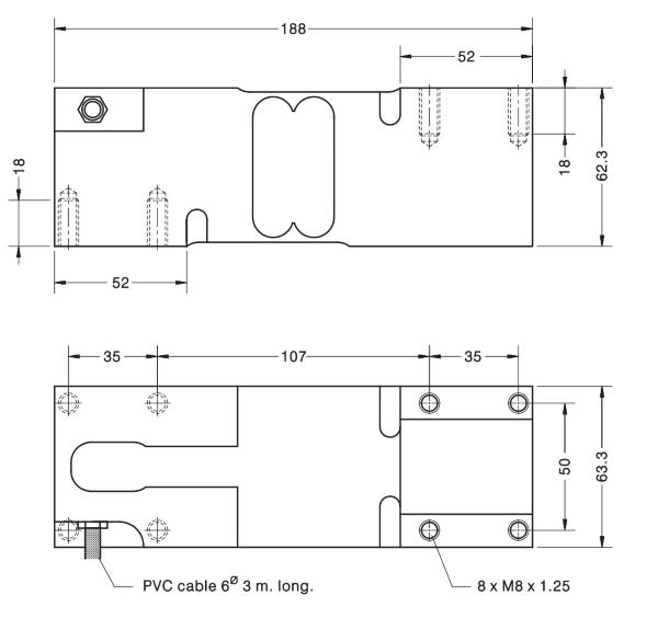 M220 rozměry