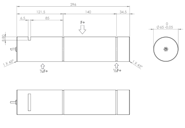 PINH-1130 rozměry