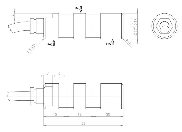 PINZ-1133 rozměry
