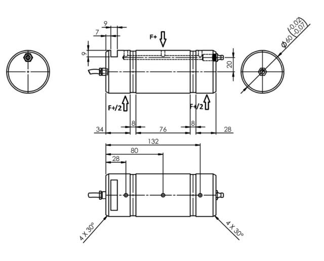 PINZ-1148 rozměry